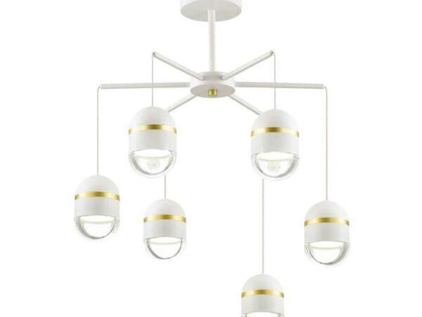 Подвесная светодиодная люстра Odeon Light Minion 4117/30CL