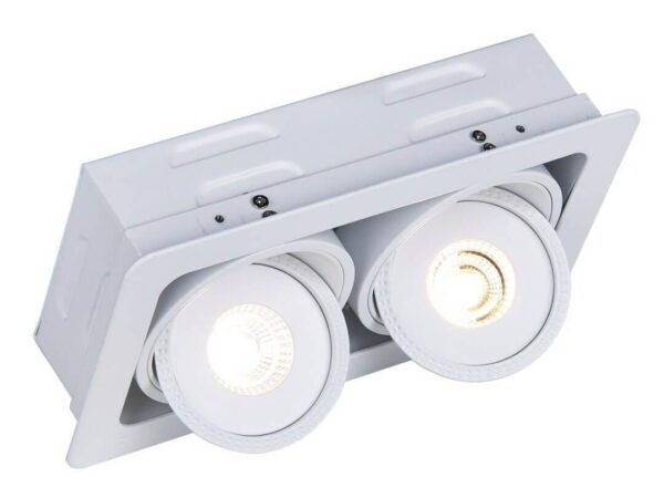Встраиваемый светодиодный светильник Arte Lamp Studio A3007PL-2WH