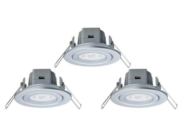 Встраиваемый светодиодный светильник Paulmann Basic EBL 3895