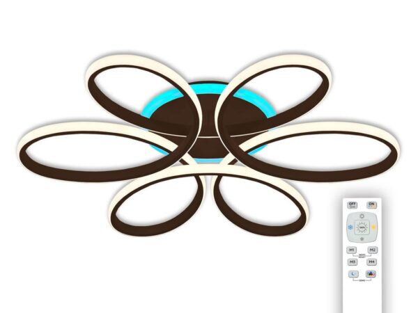 Потолочная светодиодная люстра Citilux Сезар CL233175RGB