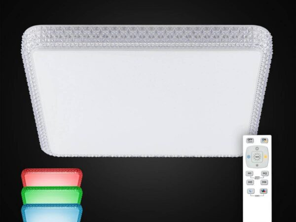 Потолочный светодиодный светильник Citilux Альпина CL718K100RGB