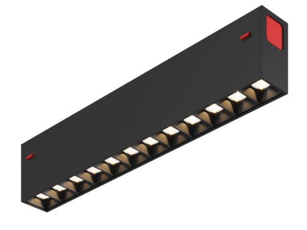 Трековый светодиодный светильник Denkirs DK8001-BK