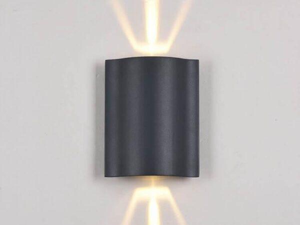 Уличный настенный светодиодный светильник Maytoni Greenwich O592WL-L6GR