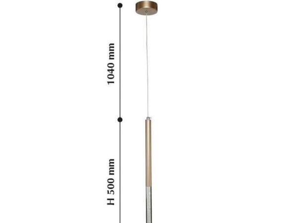 Подвесной светодиодный светильник Favourite Cylindro 2210-1P