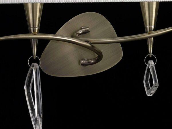 Бра Mantra Mara Antique Brass 1628
