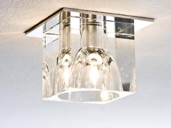 Встраиваемый светильник Paulmann Quality Glassy Cube 92018
