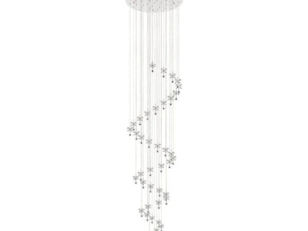 Каскадная светодиодная люстра Eglo Pianopoli 39545