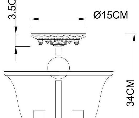 Потолочный светильник Arte Lamp Bell A7771PL-3CC