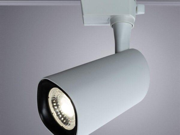 Трековый светодиодный светильник Arte Lamp Barut A4563PL-1WH