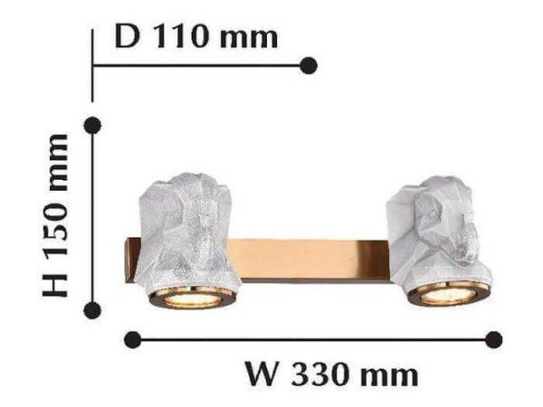Бра Favourite Elephant 2322-2W