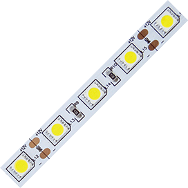 Ecola LED strip STD 14.4W/m 12V IP20 10mm 60Led/m 6000K 14Lm/LED 840Lm/m белая светодиодная лента