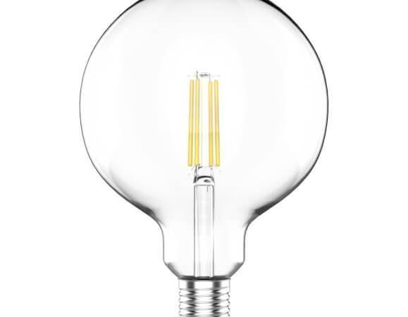 Лампа светодиодная филаментная Gauss E27 11,5W 4100K прозрачная 1111222