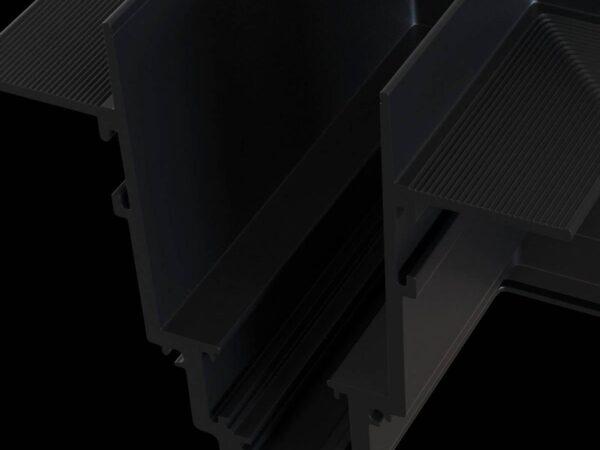 Угловой коннектор Maytoni Magnetic track system TRA004CL-22B
