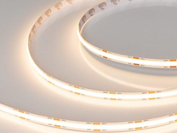 Светодиодная лента COB-X544-8mm 24V Warm3000 (11.5 W/m, IP20, CSP, 5m) (ARL, -)