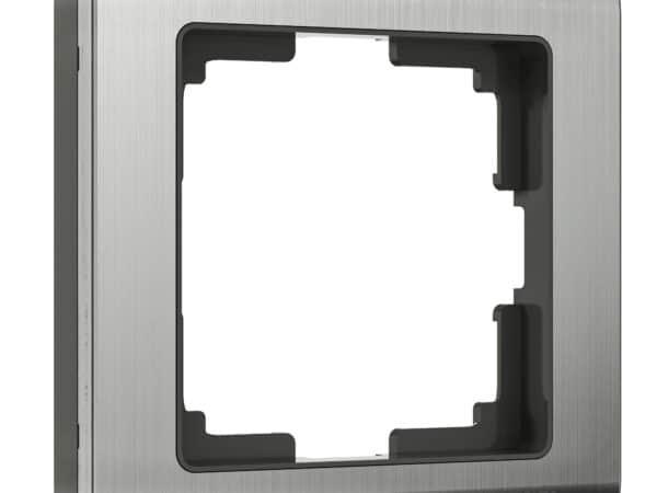 WL02-Frame-01 / Рамка на 1 пост (глянцевый никель)
