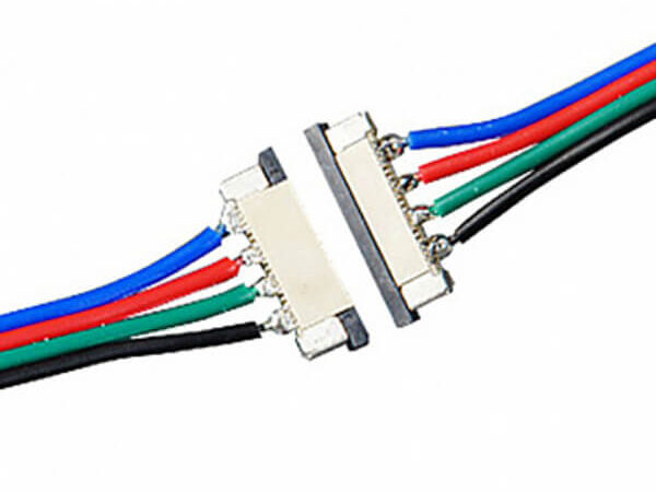 Коннекторы 4pin для лент RGB